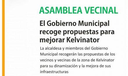 Asamblea vecinal en la zona de Kelvinator para realizar propuestas de dinamización