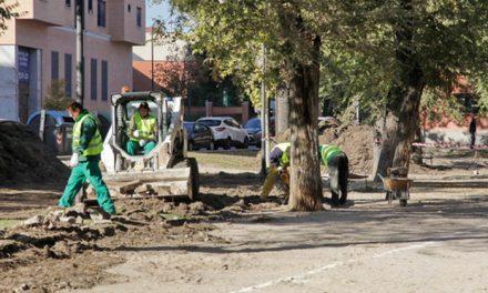 El Ayuntamiento de Getafe está llevando a cabo la remodelación de la plaza Jiménez Díaz