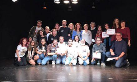 Concluye la IX edición del MuestraG con la representación de 'Hipstóricos' y la entrega de premios a actores y compañías