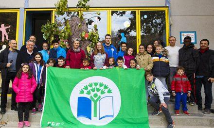 El Colegio Calasanz de Pinto recibe la Bandera Verde de Ecoescuela