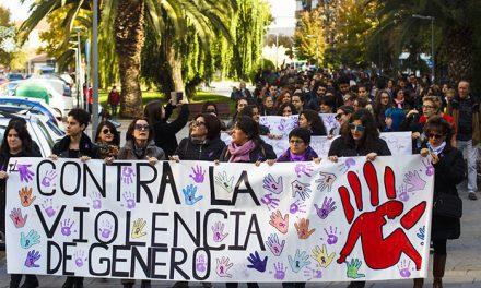 Marcha contra la Violencia de Género en Pinto