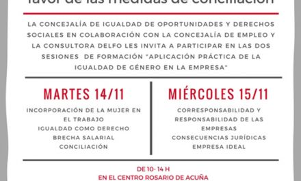 El Ayuntamiento de Pinto ofrece talleres de igualdad a empresas