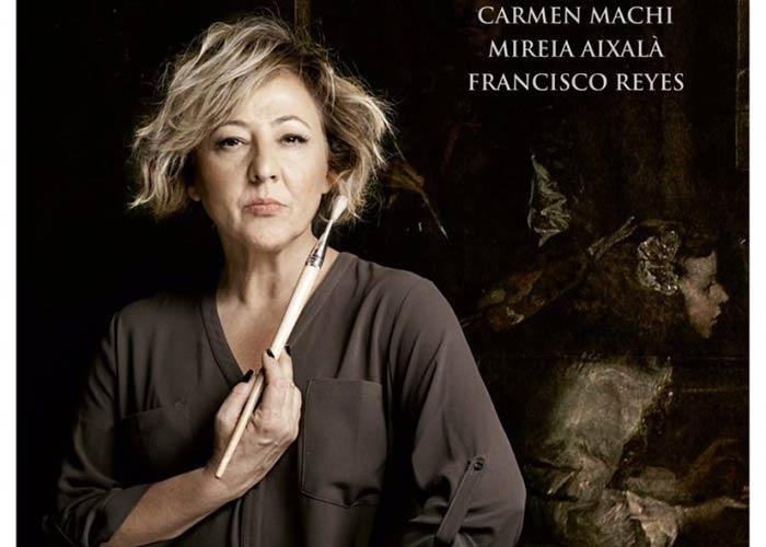 La actriz Carmen Machi encabeza el reparto de 'La autora de Las Meninas' que llega al Teatro Federico García Lorca