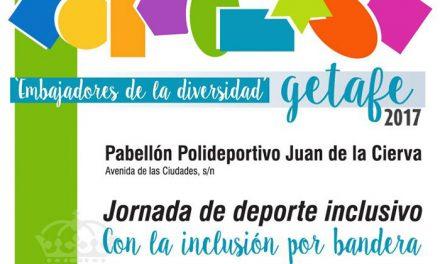 Getafe celebra el Día Internacional de la Discapacidad con una jornada de deporte inclusivo
