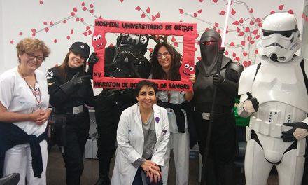 Éxito en el XV Maratón de Donación de Sangre del Hospital Universitario de Getafe