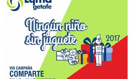 El Ayuntamiento de Getafe inicia su campaña de recogida de juguetes para entregar a las familias con menos recursos