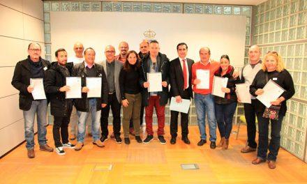 11 trabajadores y trabajadoras de la Empresa Municipal de Limpieza LYMA han firmado sus contratos indefinidos
