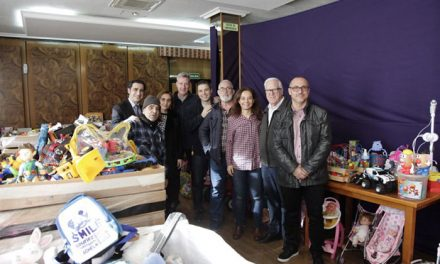 LYMA recoge 20.000 kilos de juguetes en su campaña 'Ningún niño sin juguete'