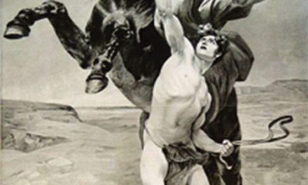 Alejandro Magno y Bucéfalo