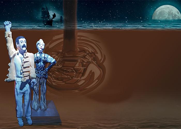 Freddie Mercury, Madonna o Michael Jackson llegan a Pinto hechos de chocolate