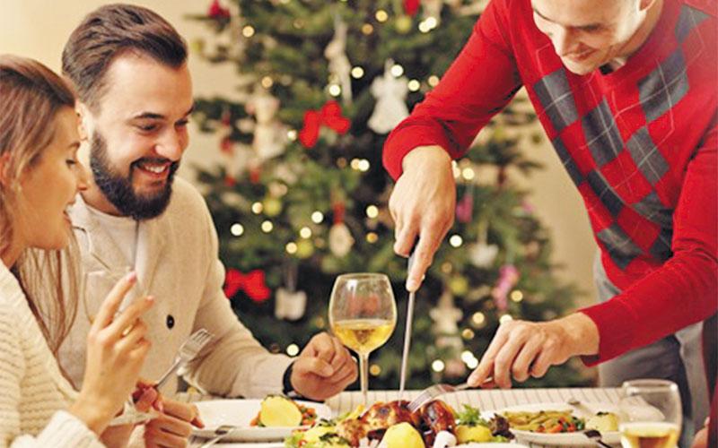 No a la suma de calorías en Navidad