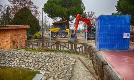 Nuevo sistema de filtrado para mejorar los lagos del Parque de La Alhóndiga – Sector III