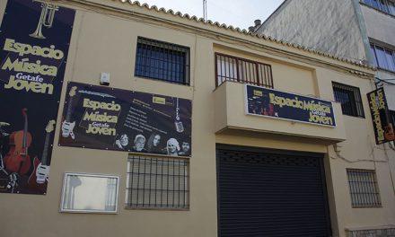 Inaugurado el Espacio de Música Joven con locales públicos para los grupos de Getafe