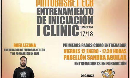 Pintobasket presenta su I Clínic para entrenadores en formación
