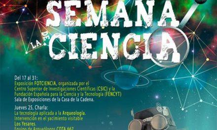 Conocimiento, curiosidades y diferentes propuestas en la Semana de la Ciencia en Pinto