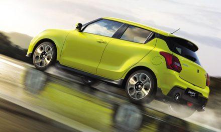 Suzuki Swift Sport, más ligero y estimulante
