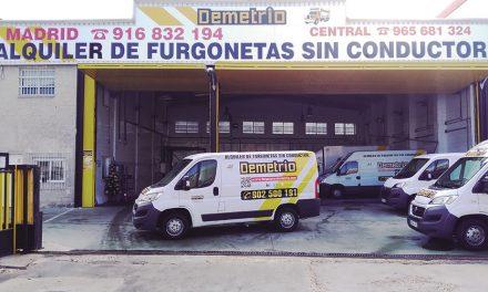 Furgonetas Demetrio: cercanía y atención exclusiva en el alquiler de vehículos industriales