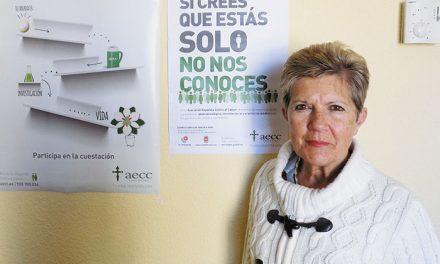 Mª Gloria Dopico, Presidenta de la Asociación Española contra el Cáncer de Getafe