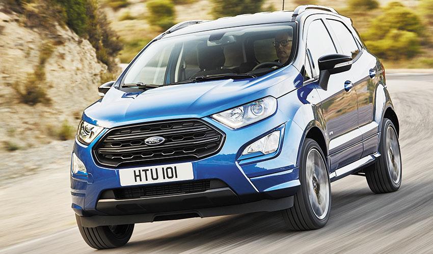 Nuevo SUV Ford EcoSport mejora en calidad, tecnología y capacidad