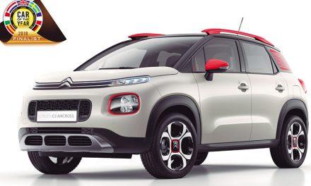 Citroën C3, finalista en 'Coche del año 2018'