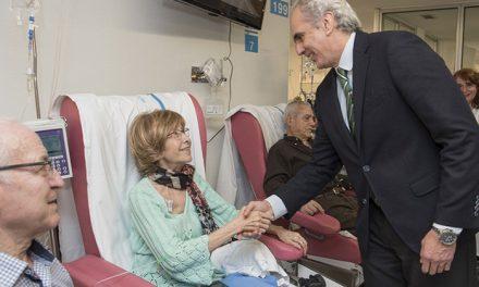 El Hospital de Getafe mejora las instalaciones de la Unidad de Día de Onco-Hematología