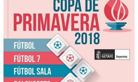 Se abre el plazo de inscripción para participar en la 'Copa de Primavera 2018'