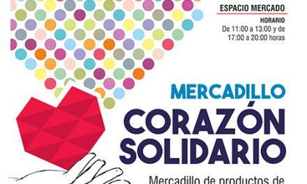 El Espacio Mercado acogerá el mercadillo 'Corazón Solidario'