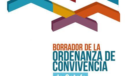 Getafe presenta el borrador de la Ordenanza de Convivencia Ciudadana