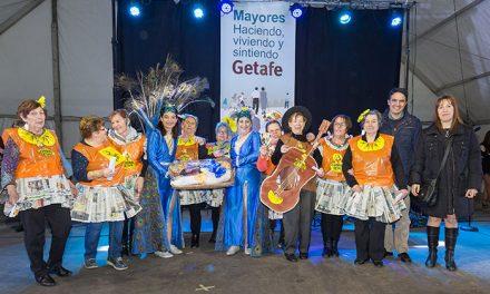 Los mayores de Getafe disfrutaron de su Carnaval