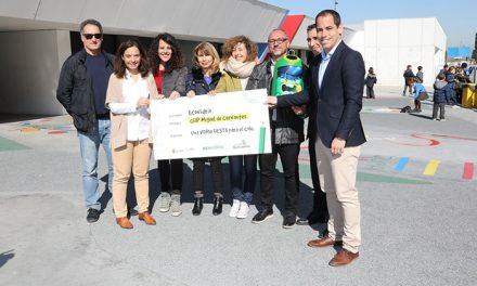 El colegio Miguel de Cervantes logra el primer premio de 'La liga del reciclaje del vidrio'