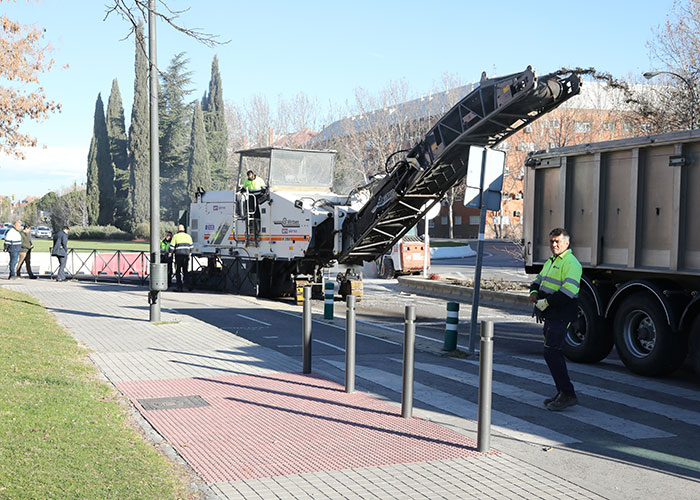 El Plan Asfalto cubrirá más de 30.000 metros cuadrados mejorando calles y avenidas de la ciudad
