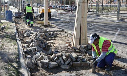 Renovación de las aceras y mejora de la accesibilidad en Getafe Norte gracias a los Presupuestos Participativos