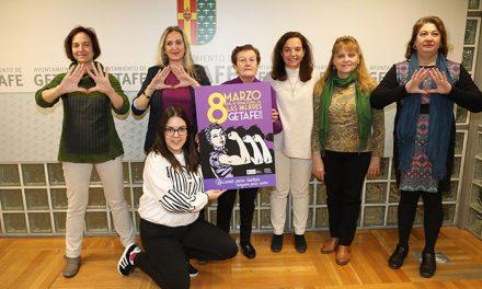 Getafe despliega una amplia campaña para celebrar el 8 de marzo, Día Internacional de las Mujeres