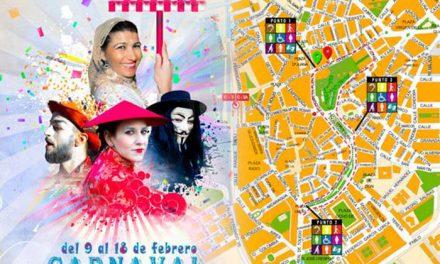 Desfile de Carnaval con puntos reservados para personas con diversidad funcional