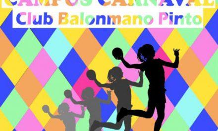 El club balonmano Pinto organiza su primero campus de Carnaval