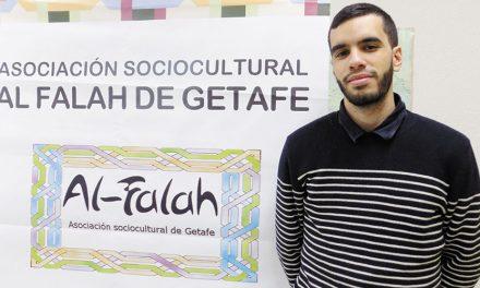Yahya Boulaich, Vicepresidente de la Asociación Al-Falah de Getafe