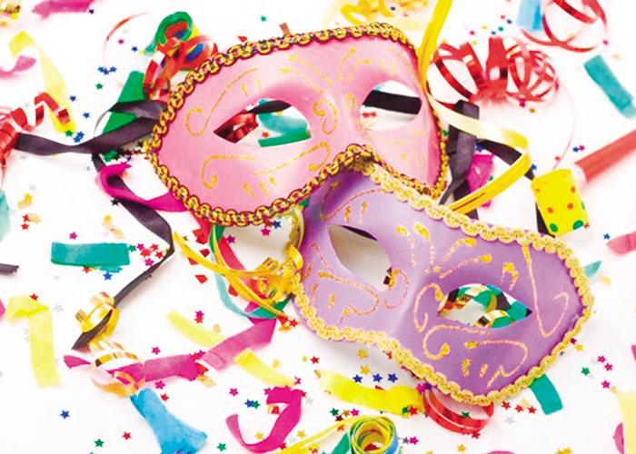 Colorido febrero de Carnaval