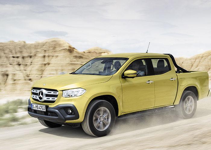Pick up Mercedes, capacidad y estilo