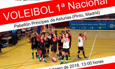 El club Voleibol de Pinto a una victoria de la Fase de Ascenso