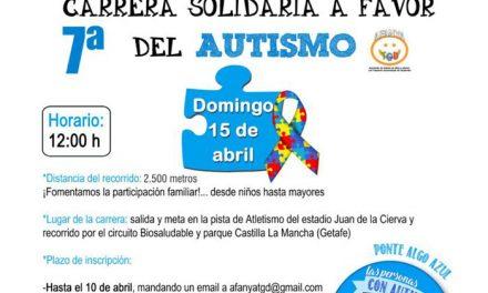 Ya se pueden adquirir los dorsales para la carrera solidaria a favor de las personas con autismo