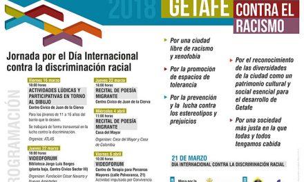 Getafe conmemora el Día Internacional contra la Discriminación Racial