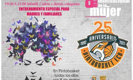 Pintobasket ECB organiza actos con motivo del Día de la Mujer