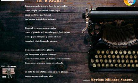 Myriam Millanes gana el certamen de poesía 2018