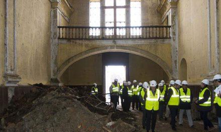 Inicio de las obras en la iglesia y convento de La Sagrada Familia