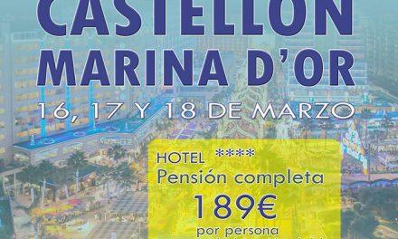 Viaje de fin de semana para mayores a Marina D'or