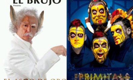 Estrellas en la cartelera del Teatro con El Brujo en 'El asno de oro' e Yllana y Primital Brothers en 'The Primitals'