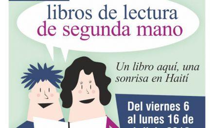 El Ayuntamiento de Getafe impulsa la Campaña Solidaria de recogida de libros de lectura 'Un libro aquí, una sonrisa en Haití'