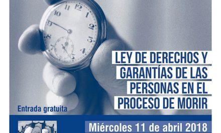 Getafe acoge una jornada sobre la 'Ley de derechos y garantías de las personas en el proceso de morir'