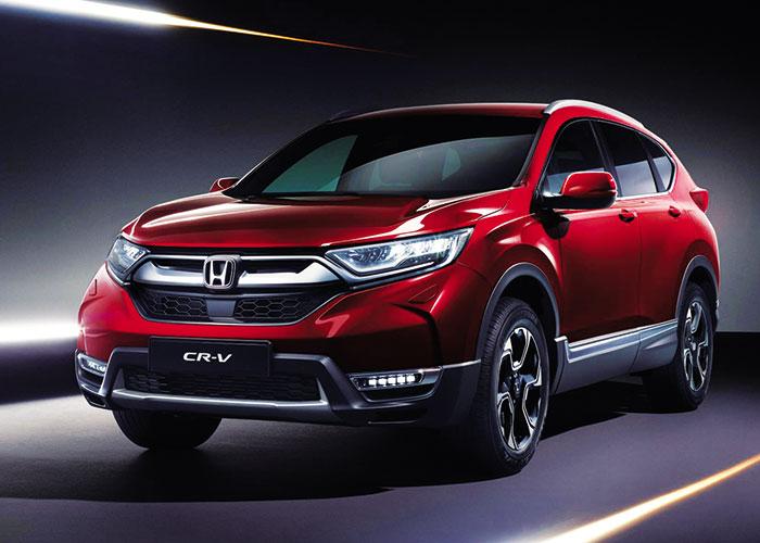 Nueva generación del CRV de Honda