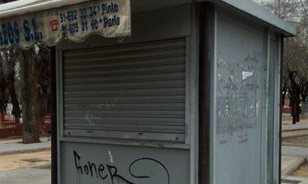 El Ayuntamiento de Pinto presenta el Concurso de graffiti «Kioscando»